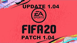 FIFA 20 Update 1.04 Info Deutsch FIFA 20 Patch 1.04 Info Deutsch