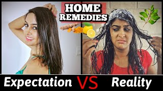 Home Remedies: Expectation VS. Reality | Rickshawali