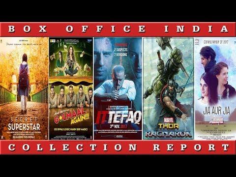 Box Office Box Office Collection Of Ittefaq, Golmaal Again , Thor Ragnarok, Secret Superstar