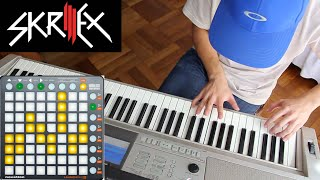 This is how to play Skrillex on a Keyboard