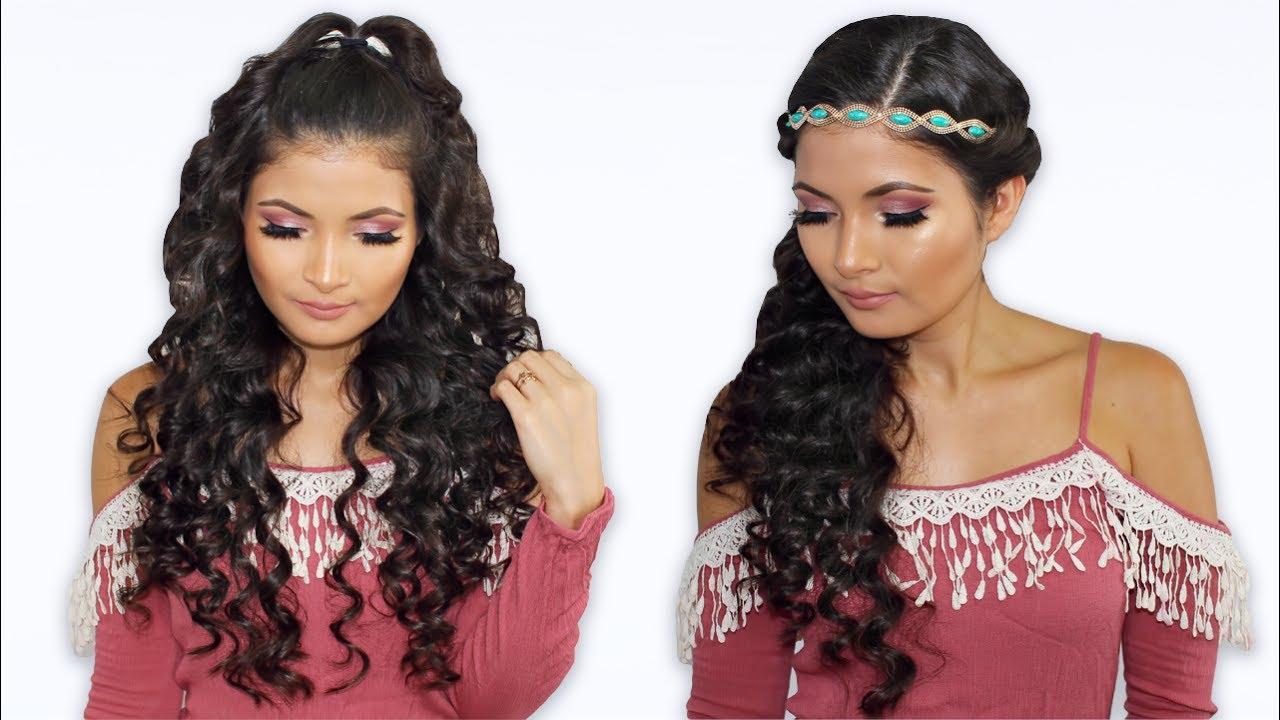 Peinados Para Cabello Rizado Faciles Y Rapidos Bessy Dressy