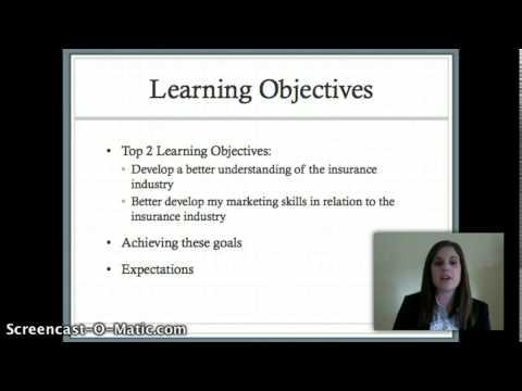 Markel Corporation Internship Presentation