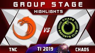 TNC vs Chaos [EPIC] TI9 The International 2019 Highlights Dota 2