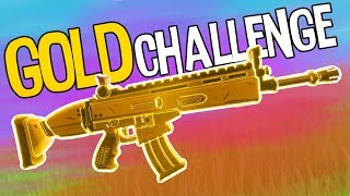 NUR GOLD CHALLENGE | Fortnite Battle Royale