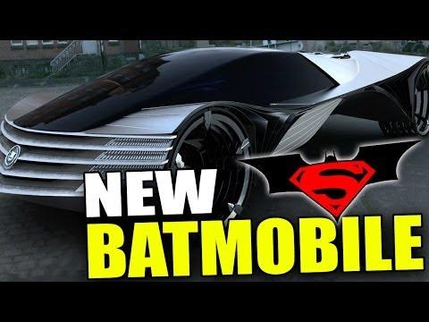 New BATMOBILE - Batman VS Superman Movie (2015)