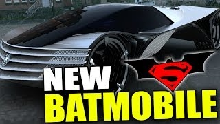New BATMOBILE - Batman VS Superman Movie (2015)