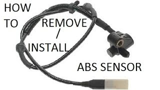Carlson CST50039 ABS Wheel Speed Sensor Position Front