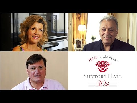 Messages from Zubin Mehta, AnneSophie Mutter, Christian Thielemann for Suntory Hall Festival 2016