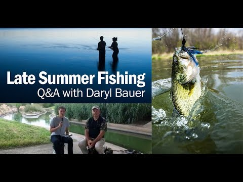 Late Summer Fishing in Nebraska: Q&A with Fisheries Biologist Daryl Bauer