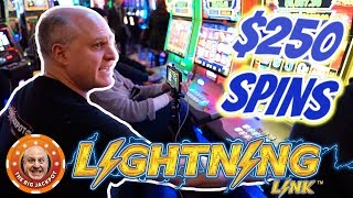 100 SPINS AT $250! ⚡World's Greatest Slot Player ⚡Lightning Link! | The Big Jackpot