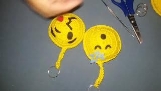 Emojis De Crochê Passo A Passo