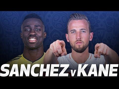 DAVINSON SANCHEZ 🆚 HARRY KANE | COLOMBIA V ENGLAND
