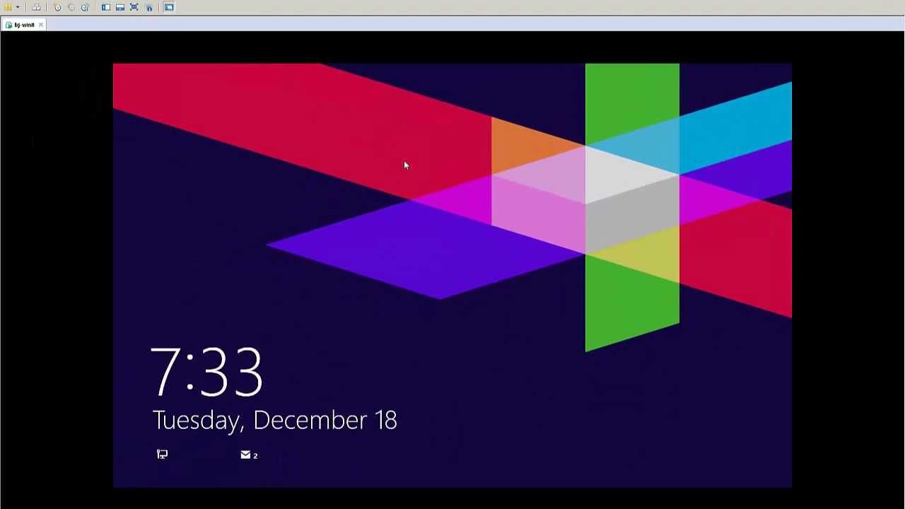 windows 8 change color of login screen