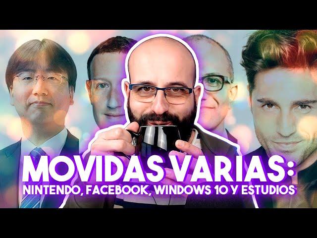 🔴 MOVIDAS CON NINTENDO, FACEBOOK, WINDOWS Y ESTUDIOS - #DIRECTADO | La red de Mario