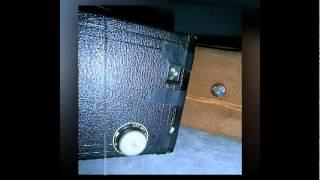 Vintage Kodak Portrait Brownie No 2 Box Camera SALE (UNTESTED) Made In Great Britain *SOLD**