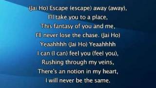 Pussycat Dolls - Jai Ho (You Are My Destiny), Lyrics In Video