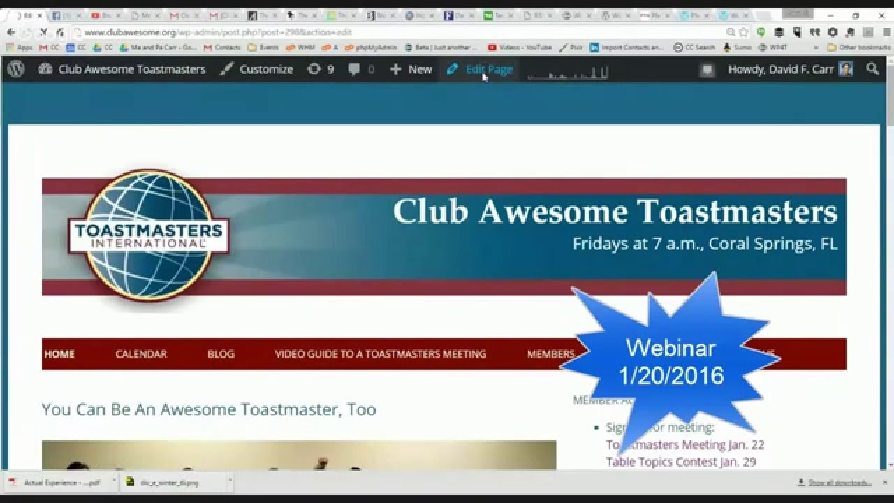 is wordpress for toastmasters easy to use wordpress for is wordpress for toastmasters easy to use wordpress for toastmasters