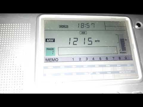 DX Mw | 1215 Absolute radio UK | received in West of Algeria