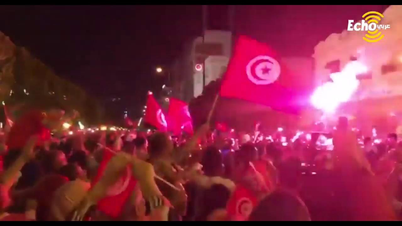 شاهد ردود أفعال التونسيين في الشوراع بعد فوز