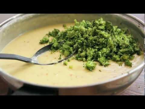 Creamy Broccoli Cheddar Soup Recipe