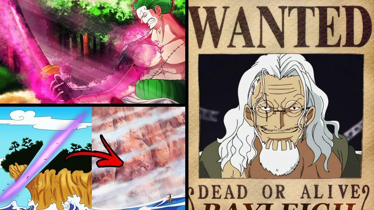 Zoro Podría Cortar El Red Line Con La Espada Enma Cuando Veremos La Recompensa De Rayleigh
