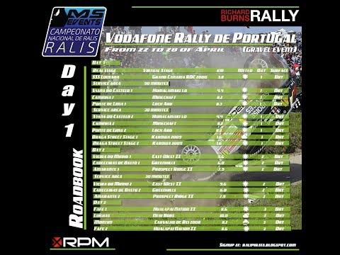 #10 - Richard Burns Rally - Vodafone Rally de Portugal - Dia 1