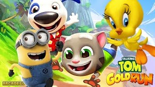 Despicable Me: Minion Rush Talking Tom Gold Run vs Looney Tunes Dash vs Rabbids Crazy Rush