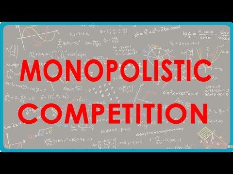 1080. Monopolistic Competition