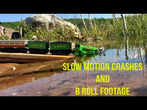 Thomas & Friends: Slow Motion Crashes, B Roll Footage, Deleted Scenes
