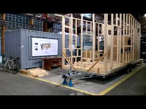 Time Lapse Building Tiny House Rotterdam Youtube