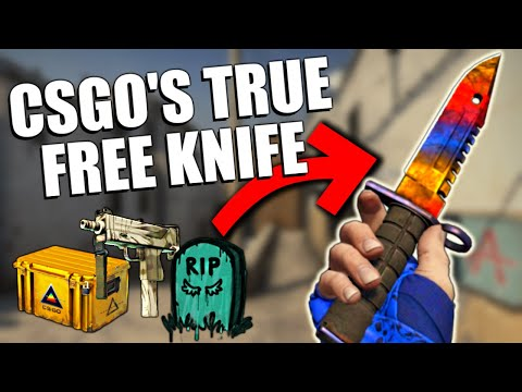 How to get a KNIFE Just From IN-GAME DROPS   TDM_Heyzeus