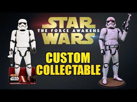 "Jakks Pacific ""Finn"" First Order Stormtrooper Makeover- Chris' Custom Collectables"