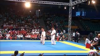 EC2018 Finale Women+65kgs  Merca Andreea Romania Vs Gustaitytė Brigita Lithuania