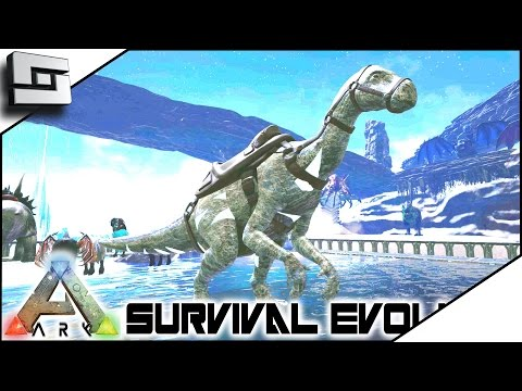 ARK: Survival Evolved - CONFLAGRANT ANGLER AND GLACIAL IGUANADON! E19 ( Modded Ark Pugnacia Dinos )