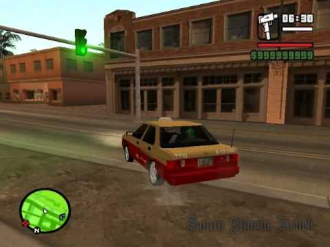 COLECCION DE TAXIS DF PARA GTA SAN ANDREAS