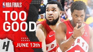 Kyle Lowry & Fred VanVleet Full Game 6 Highlights vs Warriors 2019 NBA Finals - 48 Pts Combined!