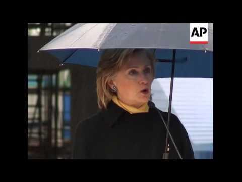 US Secretary of State Clinton  meets Shanghai Vice Mayor; presser