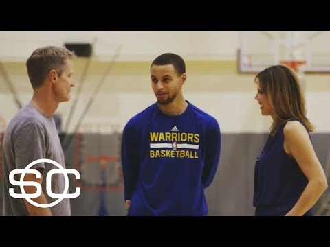 Thumbnail: Warriors' Steph Curry And Steve Kerr Have A Free Throw Rivalry | SportsCenter | ESPN Archives