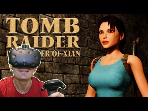 TOMB RAIDER IN VIRTUAL REALITY |  Tomb Raider: The Dagger Of Xian HTC Vive VR Gameplay