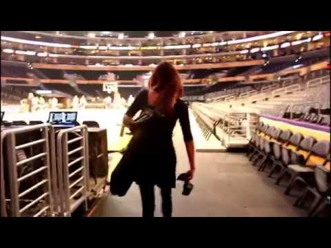 Inside the Staples Center (Lakers)