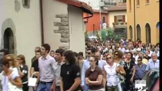 Comenduno funerale Michael Noris Antenna 2 TV 150709