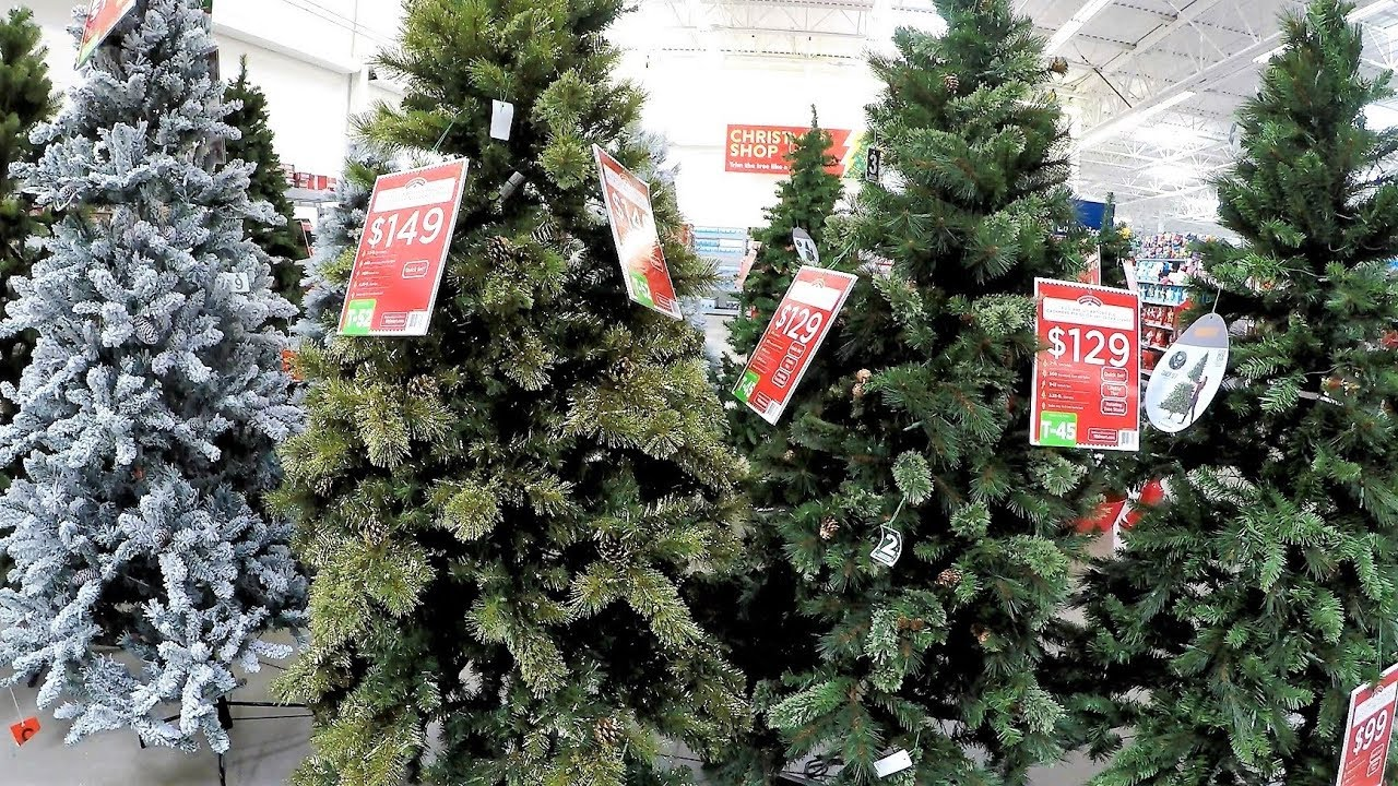 Walmart Christmas Tree Decorations
