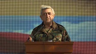 Սերժ Սարգսյան․ «Այսօր, շնորհիվ հայկական բանակի, մեր ժողովրդի անվտանգությունն ամուր ձեռքերում է»