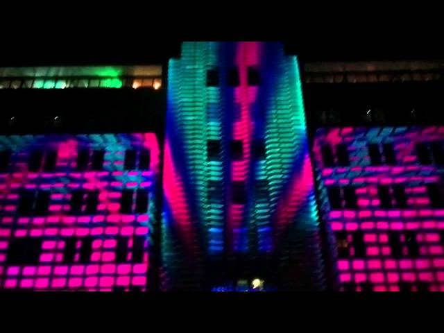 Projection mapping on the MoCA