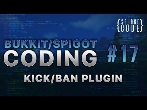 Bukkit Coding - Kick/Ban Plugin - Episode 17