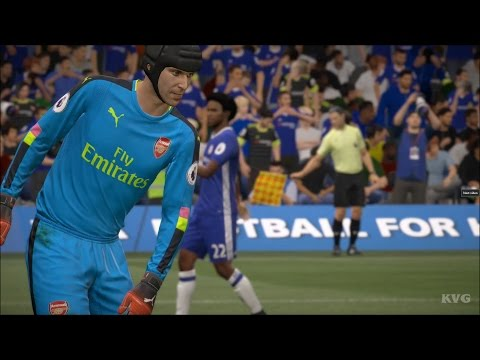 FIFA 17 - Chelsea FC vs Arsenal FC | Gameplay (HD) [1080p60F