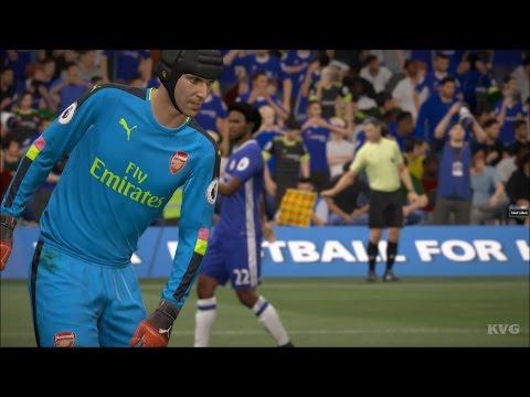 FIFA 17 - Chelsea FC vs Arsenal FC | Gameplay (HD) [1080p60FPS]