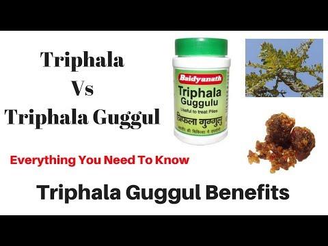 Triphala Guggul Benefits / Triphala Vs Triphala Guggul