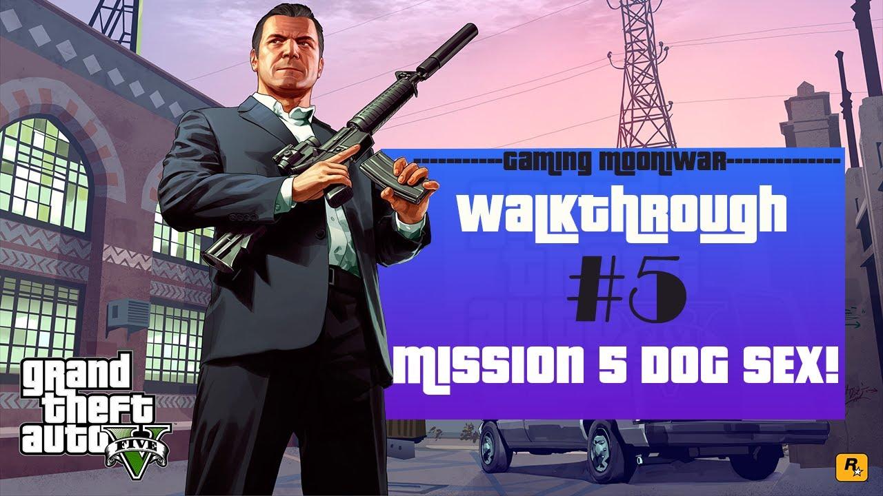 Download GTA V Mission #5   DOG SEX!!! Meet Michael Grand Theft Auto     Gaming Mooniwar    HD