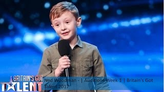 Ned Woodman | Auditions Week 1 | Britain's Got Talent 2017